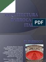 Arqitectura Barroca Italia