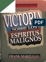VIctoria Sobre Los Espiritus Malignos - Frank Marzullo