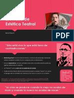 Breviario de Estética Teatral