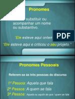 Aula 3 Pronomes