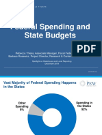 The Intersection of State and Federal Finances
