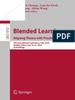 (Lecture Notes in Computer Science 9757) Simon K.S. Cheung, Lam-for Kwok, Junjie Shang, Aihua Wang, Reggie Kwan (eds.) - Blended Learning_ Aligning Theory with Practices _ 9th International Conference.pdf
