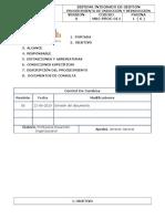 M&C-PROC-014 Procedimiento de Inducción y Reinducción - Copia