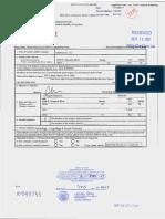 Douglas Saltsman's Certificate of Organization (Limited Liability Company)