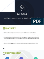 Saltmine Powerpoint Investment document
