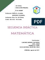 MATEMATICA 6° FATIMA