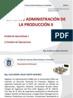 UPT Administración de La Producción II Sesión 1