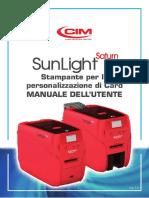 SUNLIGHT SATURN manual_Installation_ITA