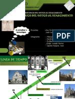 exposicion final gotico renacentista
