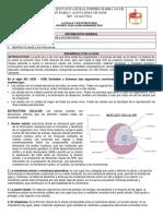 Guía 1 La Célula y Sus Estructuras.