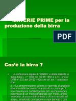 80 2 MATERIE PRIME Per La Produzione Della Birra ORZO