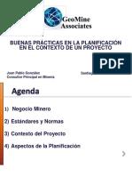 Buenas Prácticas en Planificación Minera - JP. Gonzalez - GeoMine