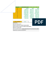 Inversión y Financiación Excel con solución