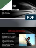 Zagrożenie terroryzmem