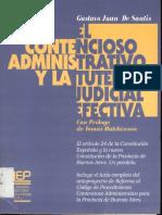 De Santi Gustavo Juan - El Contencioso Administrativo Y La Tutela Judicial Efectiva