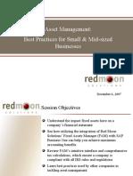 Asset Management Best Practices