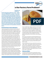 Can Lab Meat Fix Our Factory Farm Problem?