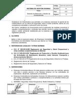ESG-VOL-GLO-07-02 Estándar de Motivación y Gestión de Consecuencias