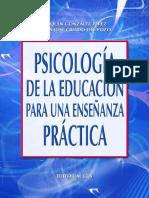 Psicología de La Educación Para La Enseñanza Práctica - Joaquín González-Pérez