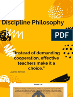 discipline philosophy