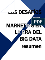 LOS DESAFÍOS DEL MARKETING EN LA ERA DEL BIG DATA