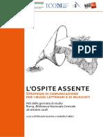 AttiGiornataStudio2018 L'Ospite Assente