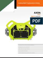 MST Global - AXON core Datasheet