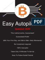 Make $100 per day - BTC Autopilot