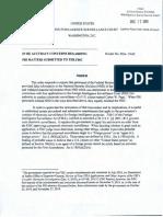 FISA Court Letter