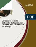 CONTRATOS DE CONSUMO INDECPI