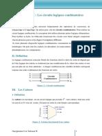 Chapitre 3 Circuits Logiques Combinatoires
