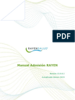 Software RAYEN - Manual Admision