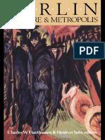 Berlin. Culture and Metropolis (by Charles W. Haxthausen & Suhr Heidrum, 1991)
