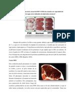 Uso de carne DED Y PSE 1