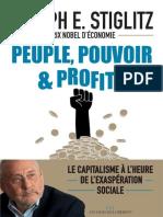 Peuple, pouvoir et profits - Joseph E. Stiglitz