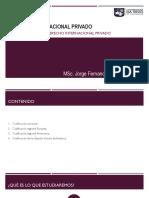 4. CODIFICACIÓN DEL DERECHO INTERNACIONAL PRIVADO