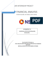 SIP Financial Analysis of Union Bank