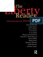 The Liberty Reader (by David Miller, 2006)