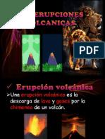 Las Erupciones Volcanicas