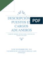 DESCRIPCIÓN DE PUESTOS RELACIONADOS AL COMERCIO EXTERIOR