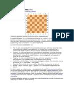 El tablero de ajedrez