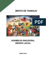 Documento Final Sinodo Laical 201905 Ver 1