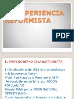LA EXPERIENCIA REFORMISTA.pptx