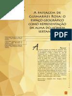 Texto paisagem e Guimarães Rosa