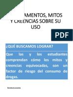 MEDICAMENTOS, MITOS Y CREENCIAS SOBRE SU USO.pptx