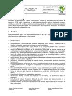 Citb.ac.Pr.02 v1. Procedimiento Control de Documentos y Registros