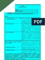 Formato Individual de Actividades Recuperacion Para El Grado Sexto 2010
