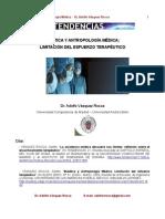 DR. ADOLFO VÁSQUEZ ROCCA _ BIOÉTICA Y ANTROPOLOGÍA MÉDICA; LIMITACIÓN DEL ESFUERZO TERAPÉUTICO _ESCUELA DE MEDICINA UNAB