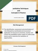 Quantitative Techniques and Concepts in Finance.pptx