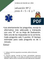 Evaluacón BLS